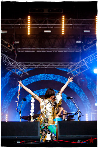 Yeah Yeah Yeahs @ Rock en Seine 2009, Domaine National de Saint-